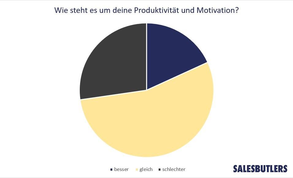 Produktivität während Corona Salesbutlers
